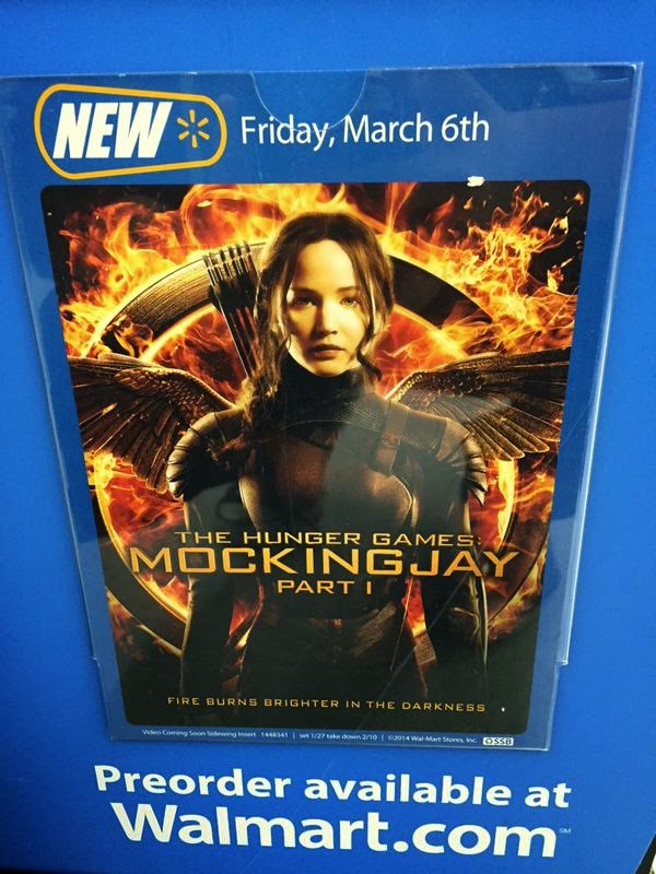 hunger games mockingjay part one release date walmart