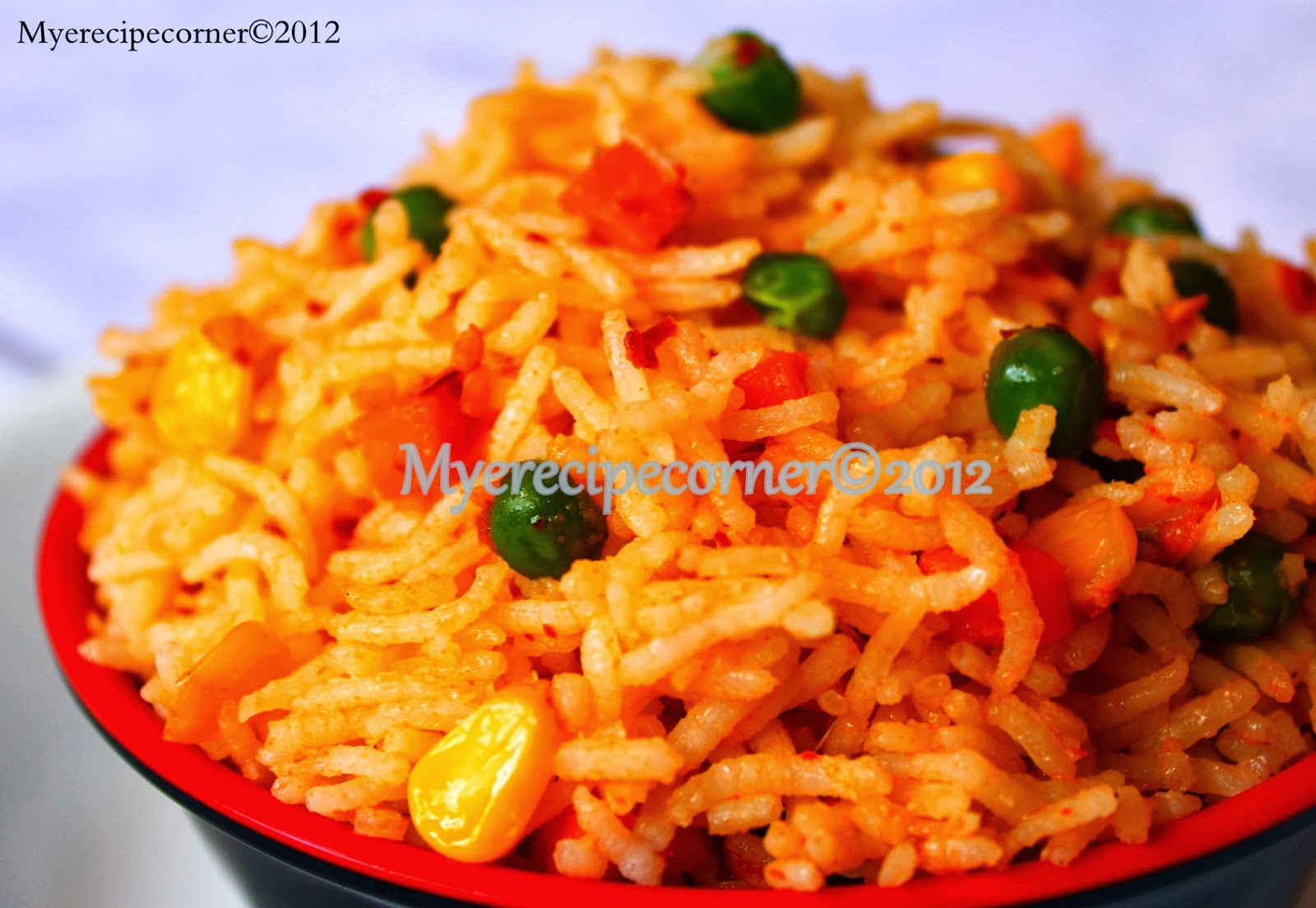 Mye's Kitchen: Mexican Rice