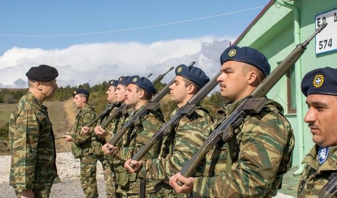 Στρατιωτικά φυλάκια της Ηπείρου και της δυτικής Μακεδονίας επισκέφθηκε ο Αρχηγός ΓΕΣ