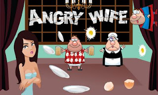Screenshots of the Angry Wife for Android tablet, phone.