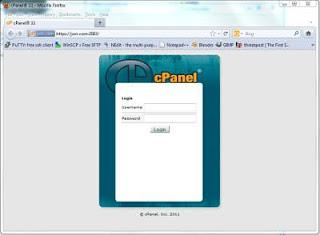 HostGator cPanel Login Page