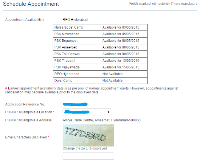 Step 4: Pay and Schedule Appointment for Passport image