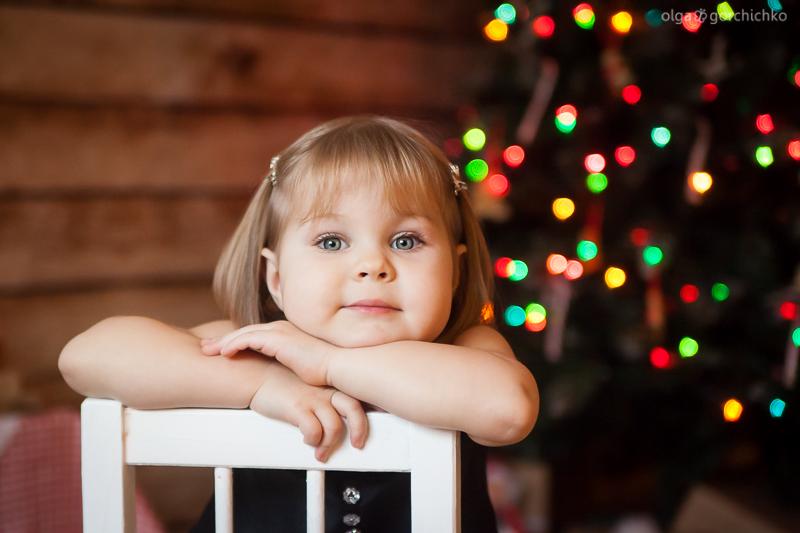 Новогодний фотопроект Пряничный домик. Детский фотограф Ольга Горчичко