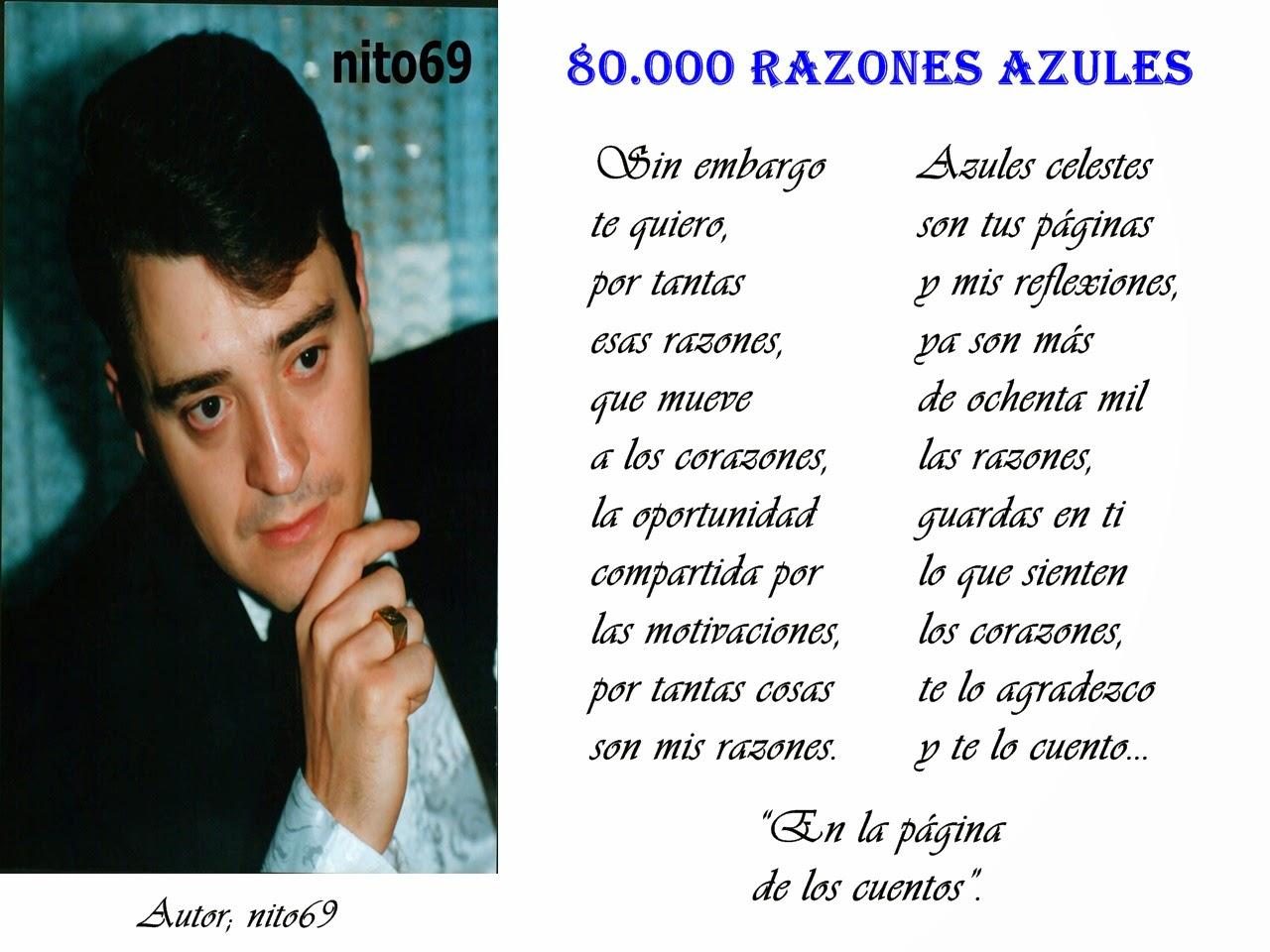 80.000 RAZONES AZULES