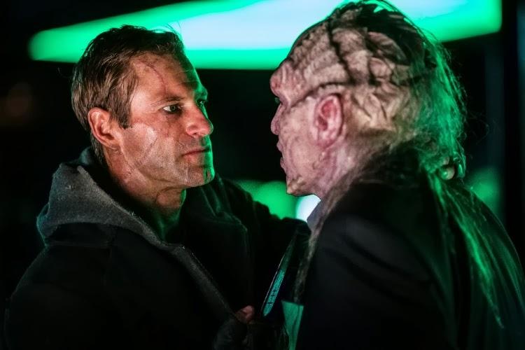 """Cena do filme """"Frankenstein: Entre Anjos e Demônios"""""""