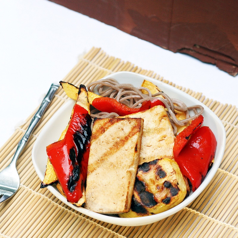 Grilled Tofu and Vegetables with Soba Noodles – The Smart ...