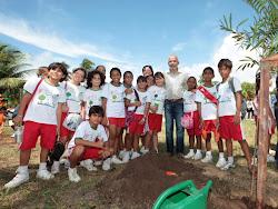 Plantio no Dia da Árvore no Parque Augusto Franco