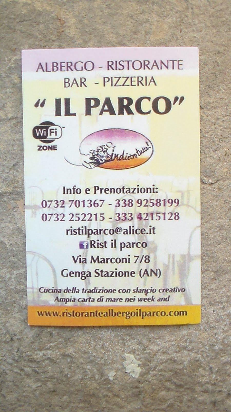 Ristorante Pizzeria IL PARCO