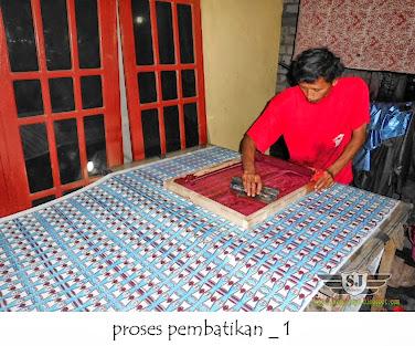 produksi batik cap/sablon