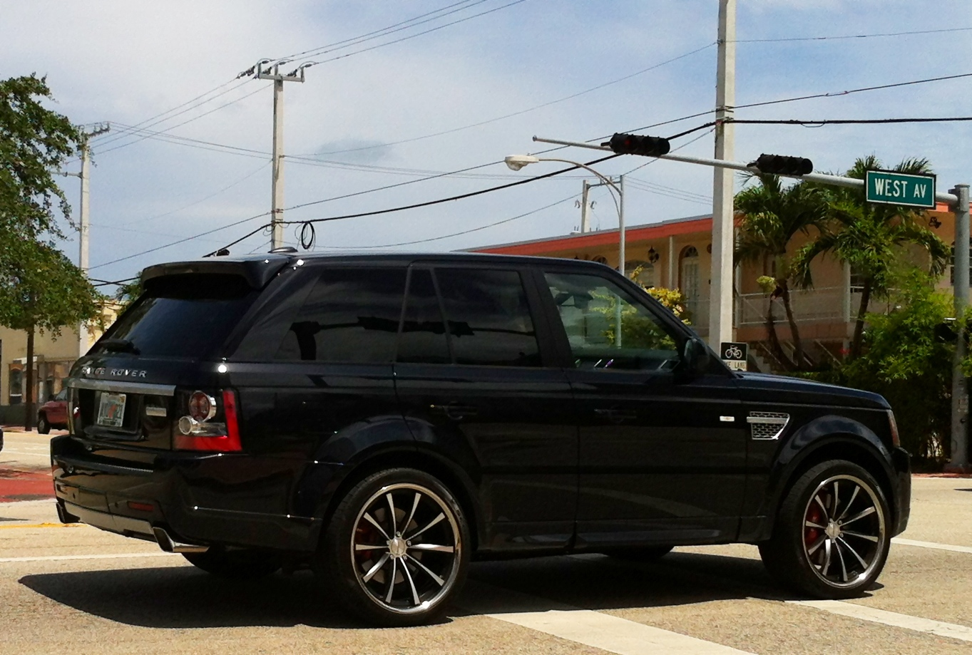 Black Range Rover Wheels Black Range Rover Sport