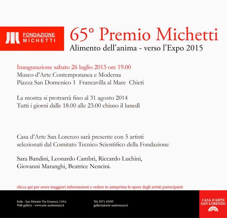 65° Premio Michetti