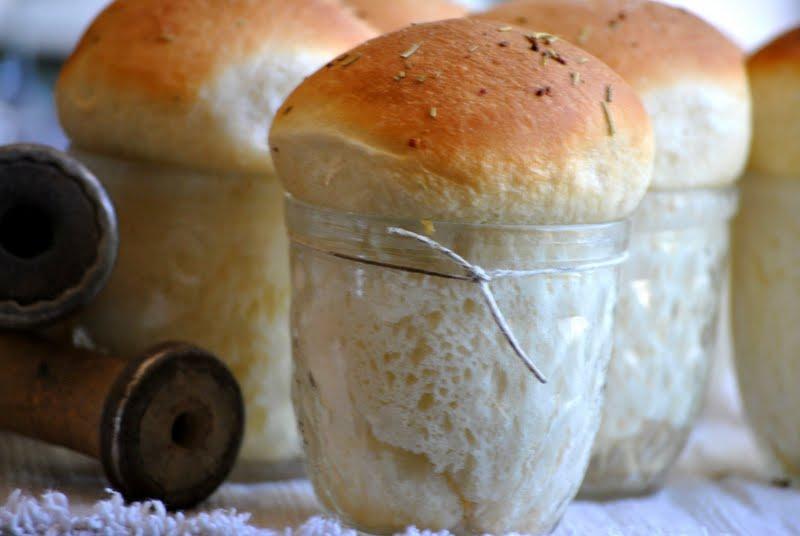 Fancy Dinner Rolls In A Jar