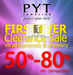 PYT Jeweller First Ever Clearance Sale 2013