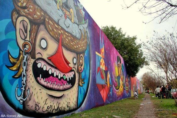 graffitis y murales callejeros