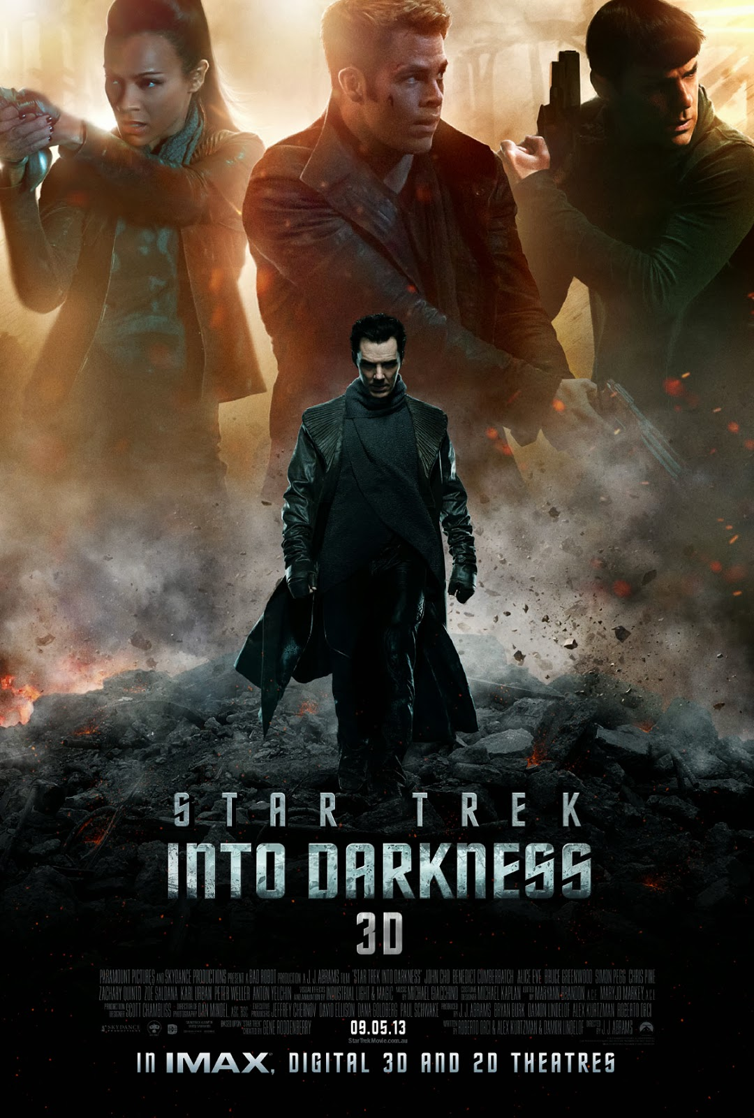 Watch Star Trek Into Darkness (2013) Tamil Dubbed Original Audio Full Movie Watch Online For Free Download