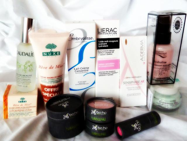 haul french cosmetics pharmacy citypharma