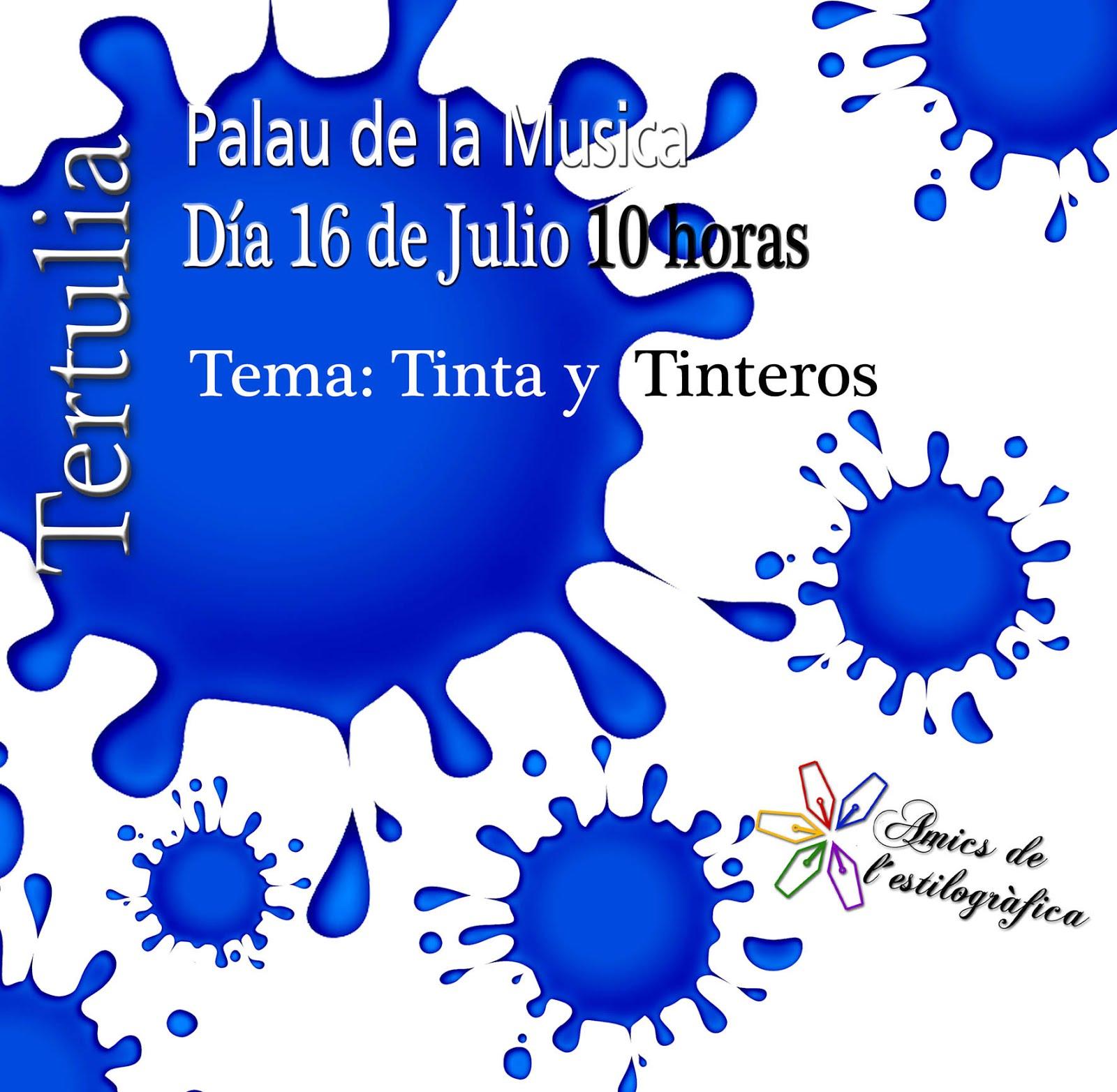 45 TERTULIA 16 DE JULIO (TINTAS Y TINTEROS)