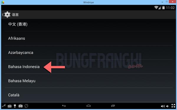 Cara Mengubah Bahasa Emulator Windroye dalam 1 Menit