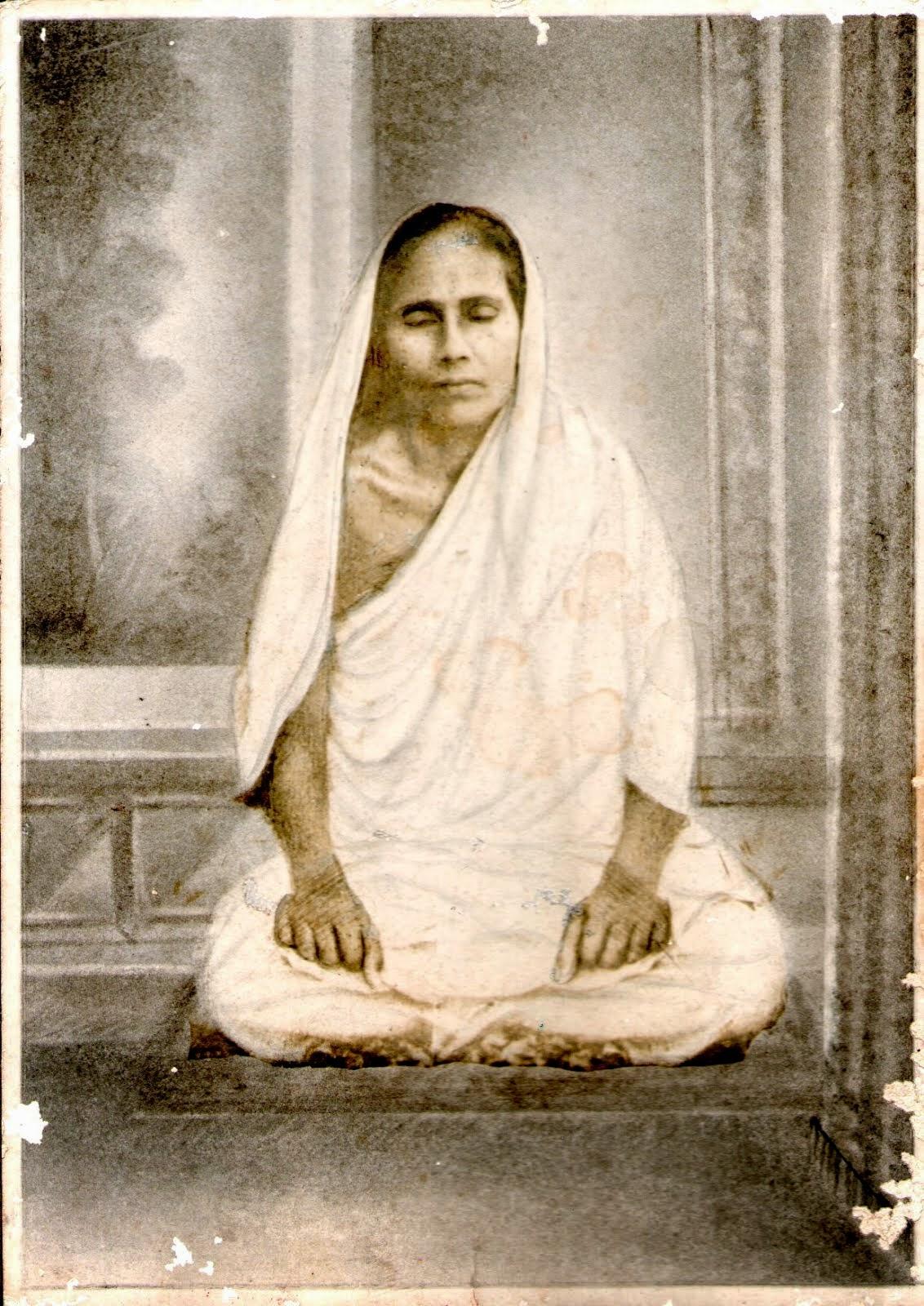 Kishori Mohan Bandyopadhyay's wife Khetroprosadi
