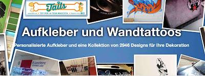 Wandtattoos von Tenstickers.de