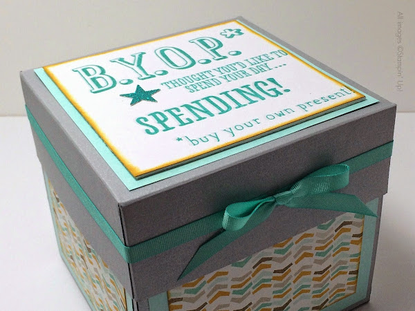 Exploding Box Card for 22nd Birthday