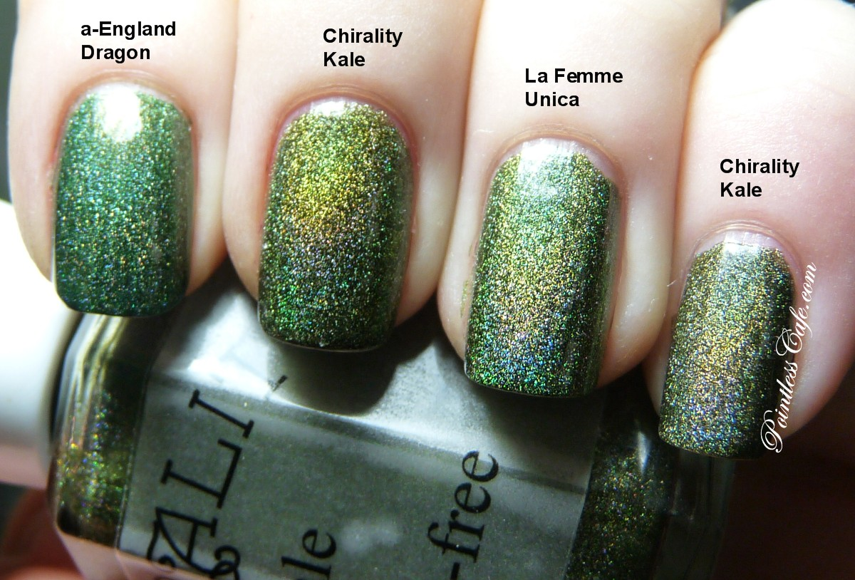 Comparison Request: Chirality Kale, a-England Dragon and La Femme ...