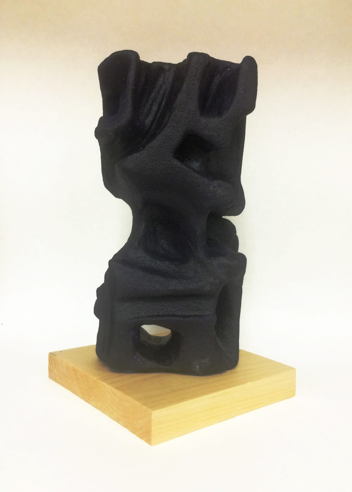 Art paper scissors glue foam sculptures