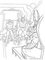 Gambar Thor Untuk Diwarnai