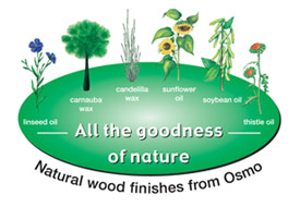 Natural goodness of Osmo Oils