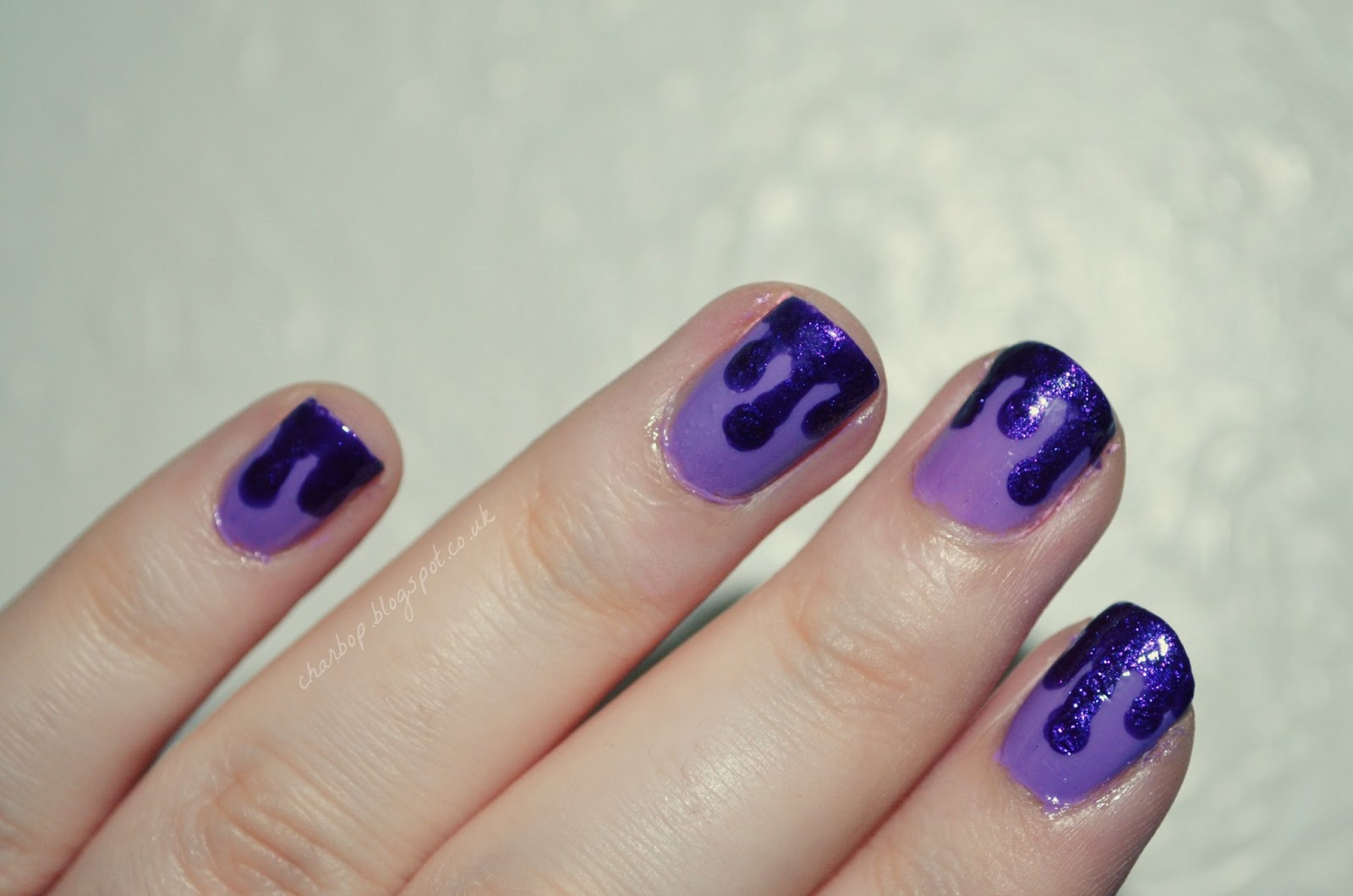 Where Is My Mind Its So Hot Im Melting Dripping Nail Art