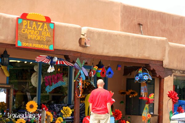 Plaza Camino Imports Store Front Taos New Mexico