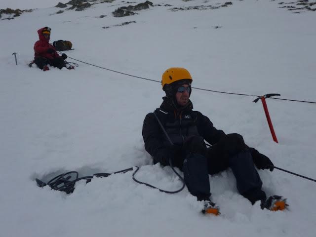 Curso alpinismo Valdezcaray-Sierra de La Demanda