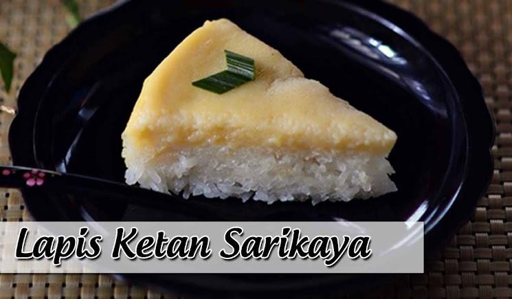 Resep Kue Lapis Ketan Srikaya