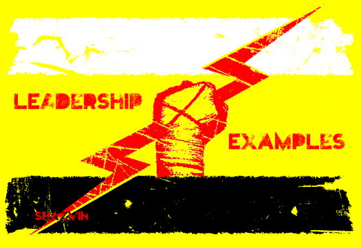 LEADERSHIP by EXAMPLES