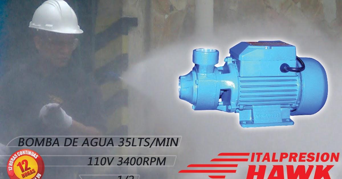 Italpresi n hawk bomba de agua domestica 1 2 hp minguetti - Bomba de agua domestica ...