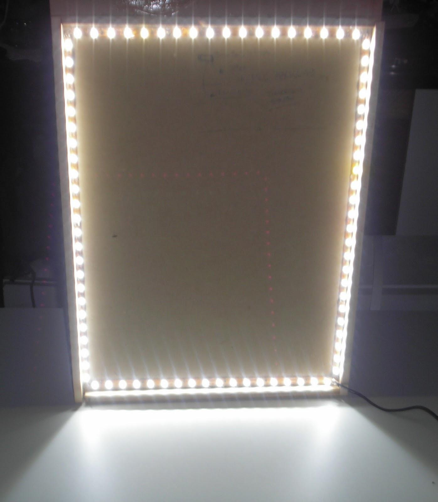 Dekoba os espejos con venecitas y luces de leds - Luces para espejos ...