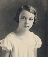 Mary Flannery O'Connor first communion