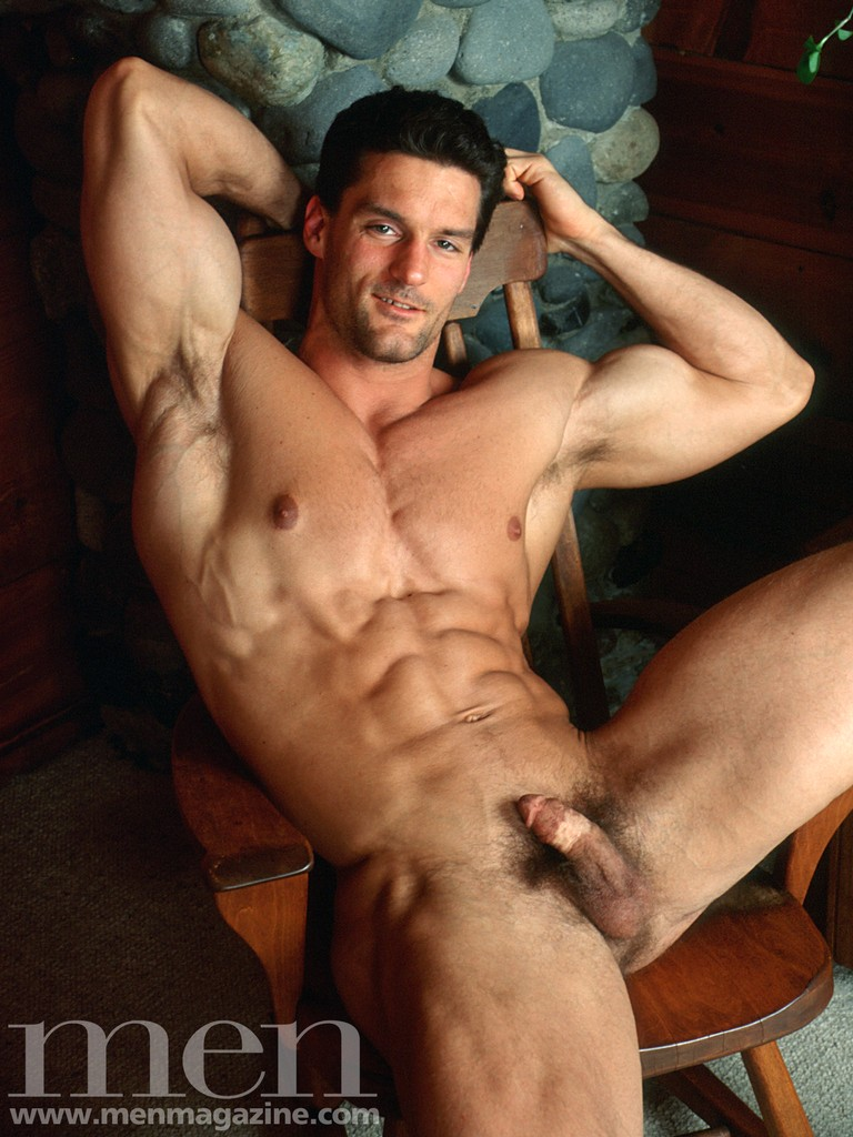 Magazine male nude models men
