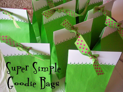 Super Simple Goodie Bags.