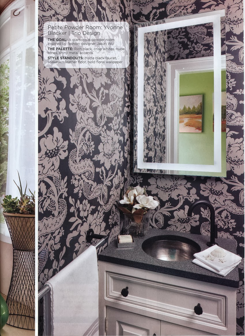 design vignettes published in maine home design