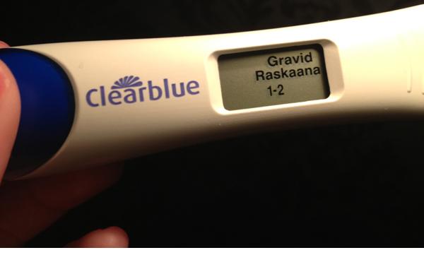 gravid tidiga tecken vecka 1