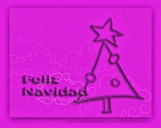 tarjeta infantil de navidad