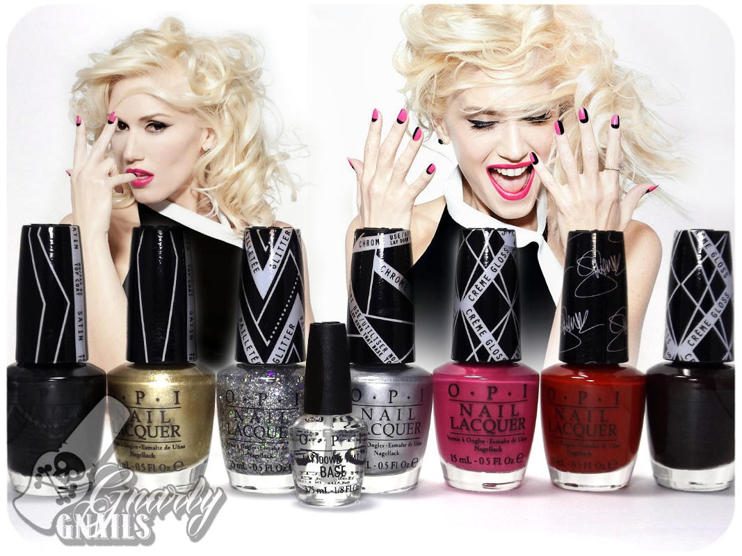OPI - Gwen Stefani Collection Swatches - Gnarly Gnails