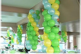 Balon Lampion Tumpuk Standard