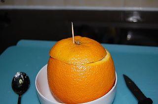 طهي البرتقال بالبخار والملح يعالج الكحه