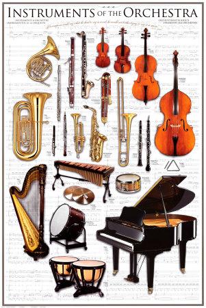 Инструменты для оркестра
