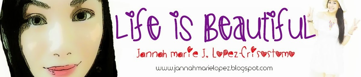 ! ♥Life is Beautiful-A Beauty Blog by Jannah♥ !
