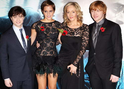 10 Rekor Dunia JK Rowling (Penulis Harry Potter)