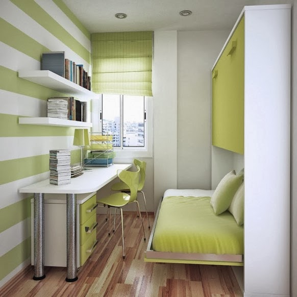 Cara menata kamar tidur sempit dan mungil