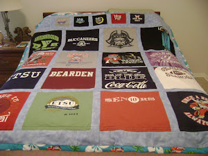 Shelby's T-Shirt Quilt